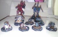 Mechwarrior Battle Group: Copperhead Mangonel, Blitz Jade Hawk, 7 other figures