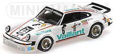 Porsche 934 Norisring EGT 1976 Bob Woller #6 Vaillant bianco 1:43 Minichamps