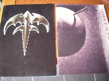 2 x queensryche tour programmes empire promised land tour book