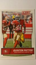 NFL Trading Card Quinton Patton San Francisco 49ers Score 2016 Panini