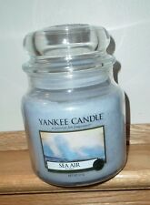 YANKEE CANDLE ~ SEA AIR ~ MED 14.5 OZ JAR CANDLE ~ FREE SHIPPING ~ NEW