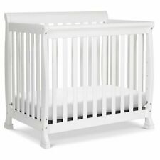 DaVinci Kalani 4-in-1 Convertible Mini Crib in White