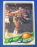 JAMES EDWARDS autographed auto signed 1979-80 Topps Indiana Pacers