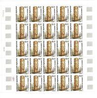 3 Hojas sellos Francia 1984 yvert 2299/2301 Serie artistique timbre France