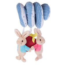 Peter Rabbit & Flopsy Bunny Pushchair,Buggy,Car Seat,Cot Spiral Twisty Toy