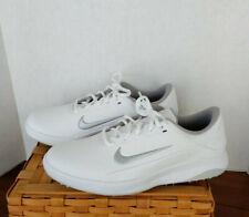 Nike Vapor Golf Fitsole Shoes Men's Size 9W Wide AQ2301-100 White New