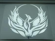 5 inch Tribal Phoenix Chrome - Custom vinyl car sticker, decals, graphics Tribal