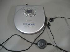 Sony CD Player Discman D EJ715  (228)  + Remote > Hörspiel-tauglich >Stop/Play