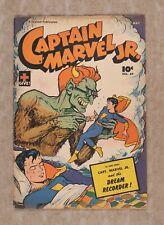 Captain Marvel Jr. #49 VG 4.0 1947