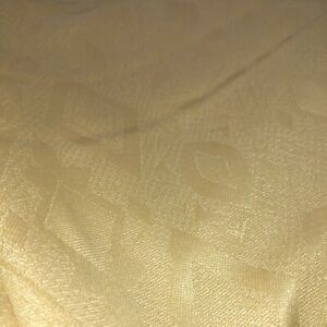 Arbry quality products Inherently Flame Retardant Bed Linen throw gold beige