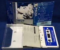 Madonna True Blue Japan Cassette Tape 1986 PKG-3175 La Isla Bonita Live To Tell