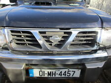 NISSAN PATROL 3.0TD 2.8TD FRONT GRILL GRILLE CHROME SILVER Y61 1997 - 2013