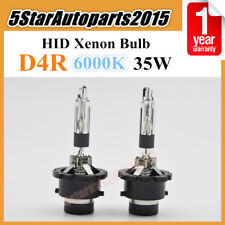 2x D4R 6000k 35W Xenon HID Car Headlight Bulb Lamp Replace for Philips for Osram