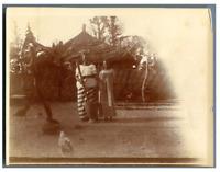 Gambia, Bathurst (Banjul), Foyer indigène  Vintage citrate print Tirage citrat