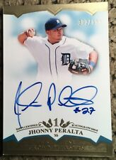 2011 Topps Tier One #CP-JP Jhonny Peralta Detroit Tigers Auto Baseball Card