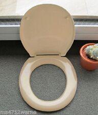 PAGETTE Exklusiv WC-Sitz bahamabeige beige mit Edelstahl Befestigung Neu