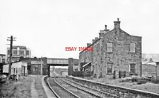 PHOTO  1951 NORTHWARD AT FORMER WORKINGTON CENTRAL RAILWAY STATION  THIS HAD BEE