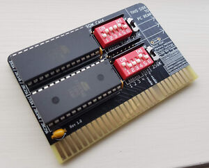 DoubleROM - IDE Size Limit Remover - Dual Bootable ROM ISA Card