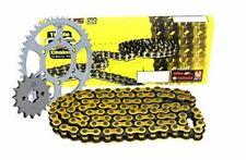 Triple S 525 O-Ring Chain and Sprocket Kit Gold Suzuki DL650 V-Strom All Models