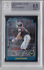 2003 Bowman Chrome Draft Alex Rios Rookie Graded BGS 8.5