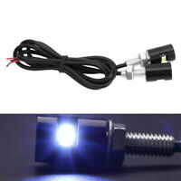 2 x LED License Number Plate Light Screw Bolt Bulbs SMD For Car Motorcycle NEW