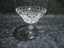 Vintage Westmoreland Glass 1000 Thousand Eye Eyes Crystal Compote 3 Part Mold