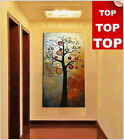 Hand-painted OIL PAINTING MODERN ABSTRACT WALL DECOR ART CANVAS (no frame) 24x48