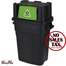 NEW Rubbermaid 30-Gallon Kitchen Trash Can Recycling Waste Stackable Garbage Bin