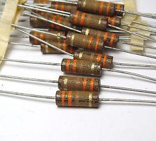 20x Vitrohm Vintage Widerstand für Röhrenverstärker, 330 Ohm, 1 Watt, NOS