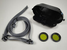 CARL ZEISS DF 7x40 MILITARY BINOCULARS OCULARS COVER INCL. FILTERS & NECK STRAP