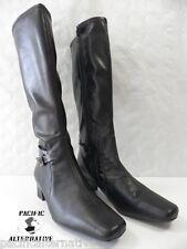 Bottes ARTIKA WISTY noir FEMME cuir ZIP ville taille 36 boots black woman NEUF