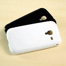 Samsung Galaxy Ace 2 i8160 TPU, móvil, silicona, funda protectora, estuche, funda, bumper, protección en el set