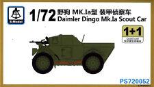 S-Model 1/72 #PS720052 Daimler Dingo Mk.Ia Scout Car (1+1 Kits)
