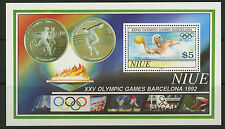 Niue  1992   Scott #   625     Mint Never Hinged Souvenir Sheet