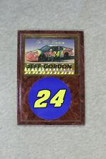 "Jeff Gordon ""On the Horizon"" new wall plaque"