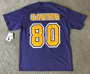 VTG Deadstock NWT CSA Minnesota Vikings Cris Carter T-shirt - Size Large