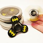 Avengers Superhero Hand Fidget Spinner Metal Spiderman Captain America BOXED