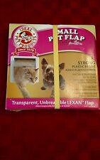 """Ideal Pet Products Small Pet Flap Dog Door Cat Door 6.25"""" x 6.25"""" - New"""