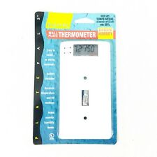 Plate Pals Digital Wallplate with Thermometer/Relative Humidity Display
