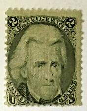 """1867 UNUSED US ANDREW JACKSON STAMP #93 """"F"""" GRILL"""