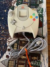 Sega Dreamcast Controller White With Memory Card🔥 See Pics