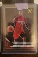 2019-20 Clearly Donruss Kendrick Nunn Rated Rookie Gold Parallel Miami Heat