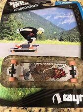 """Tech Deck Longboards - """" RAYNE""""  Fingerboard - 120mm Skateboard - NIP Vintage"""