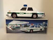 1993 Hess Patrol Car w/ working siren, flashers & headlights ~ New in Box! Truck