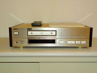 Sony CDP-X777ES High-End CD-Player Champagner aus 1.Hand, FB&BDA, 2J. Garantie
