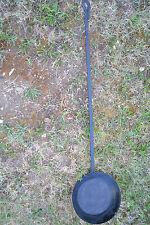 Ancienne et très longue poêle de cheminée (1m45 de long)