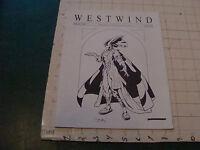 original Sci Fi paper(s): WESTWIND jan 1997; #215 northwest sci fi society 20pgs