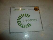 GREEN VELVET - La La Land - 2002 UK 3-track CD single