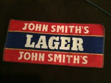 John Smiths Lager Beer Bar Towel Pub