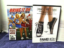 Bring It On-In It to Win It DVD + FameHigh DVD both are in good condition